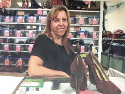 Escondido shoe repair shop one of the