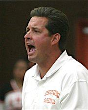 (Sport Shorts1) Escondido High boys basketball coach Paul Baldwin.