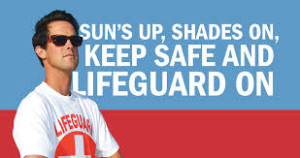 Summer is the time to lifeguard on