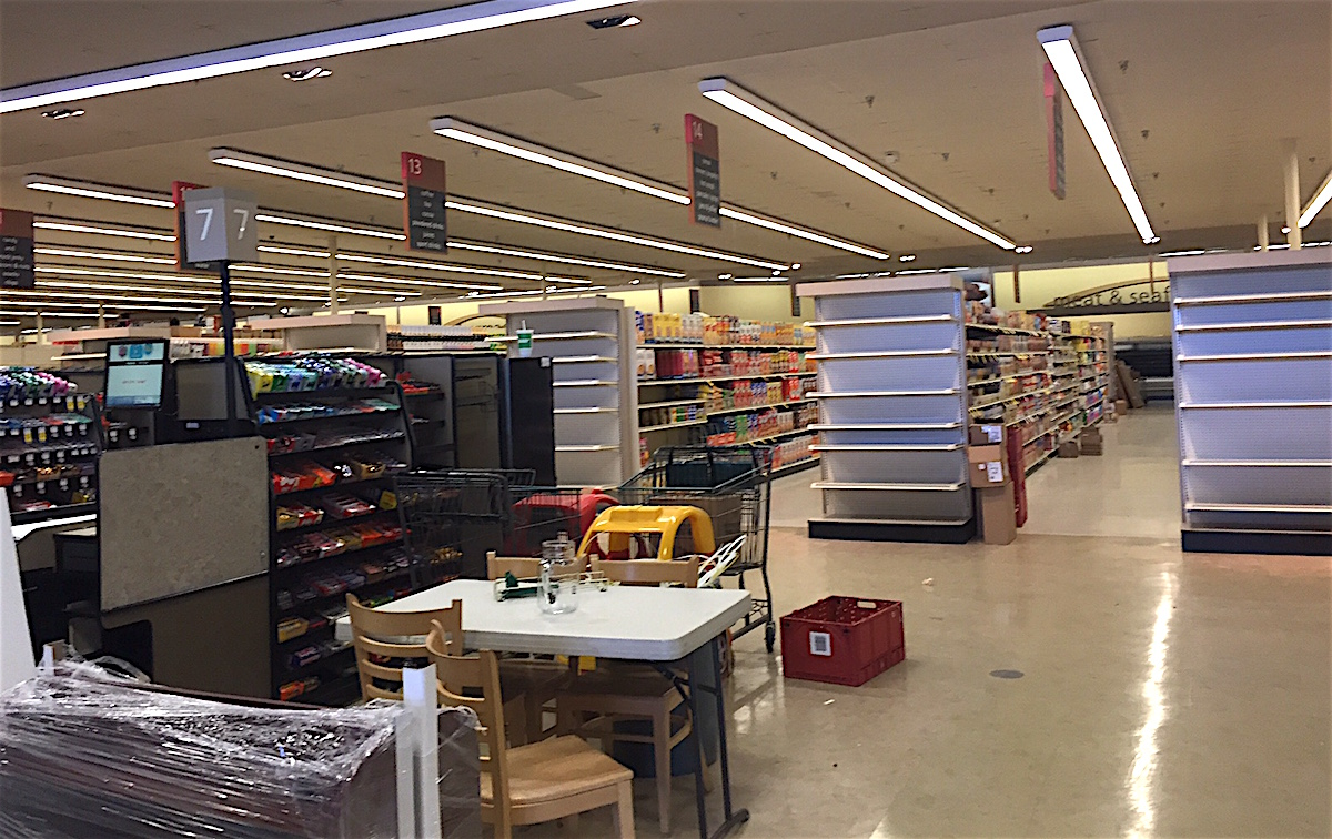 Deja Vu? Look familiar? Rancho Santa Fe Road Vons interior on Monday, March 7.