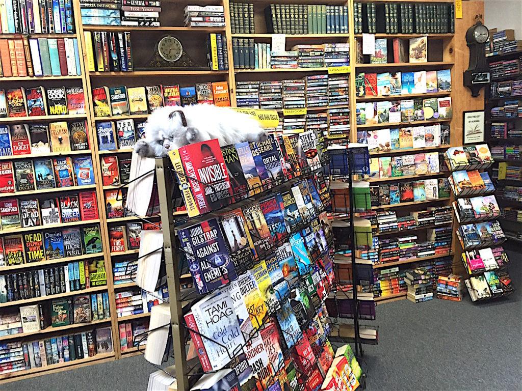 The books, the books.