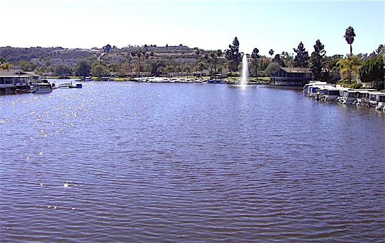 Often idyllic Lake San Marcos got a rude broken sewage pipe awakening this week.