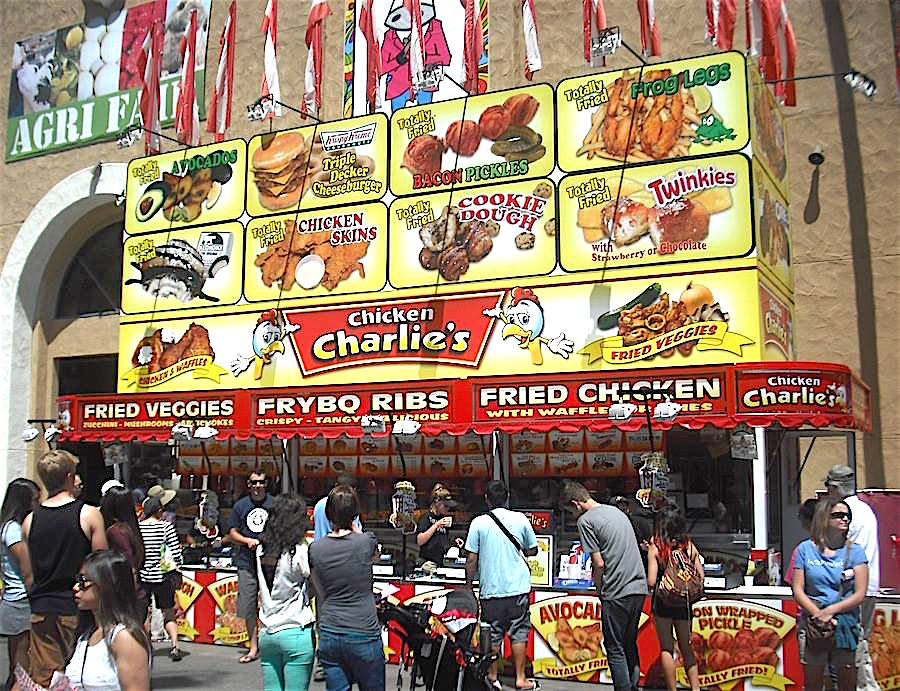 Ground Zero for anything fried -- Chicken Charlies.