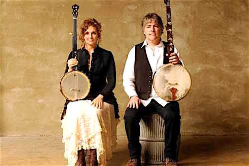 Bela Fleck and Abigail Washburn.