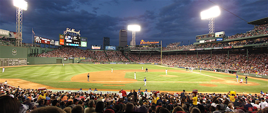 Fenway at night/Cody Carlson.