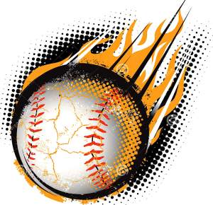 baseball-meteor-fiery-hurling-air-33116333