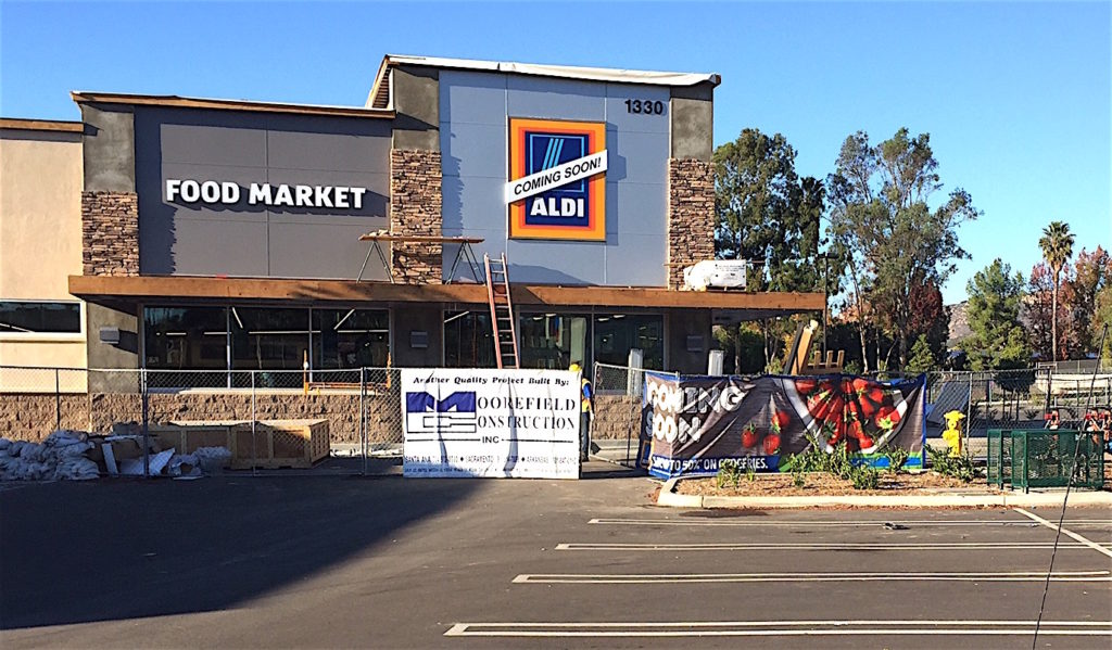 New Aldi Escondido in progress.
