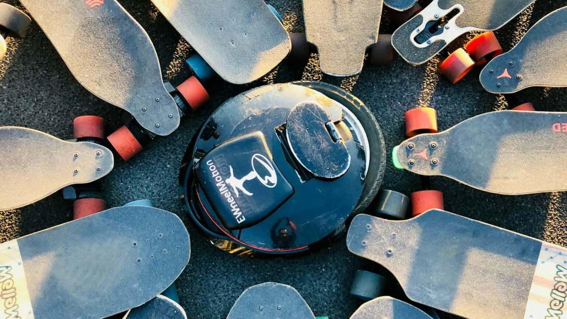 Elektro-Skateboards und Monowheel