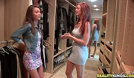 Lesbian, Malena Morgan And Jayden Cole