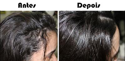 Relaxamento no cabelo feminino e masculino - fotos