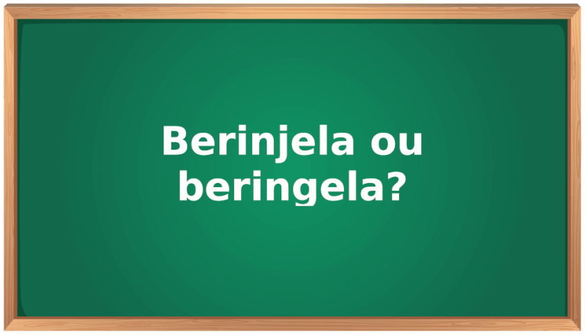 berinjela ou beringela