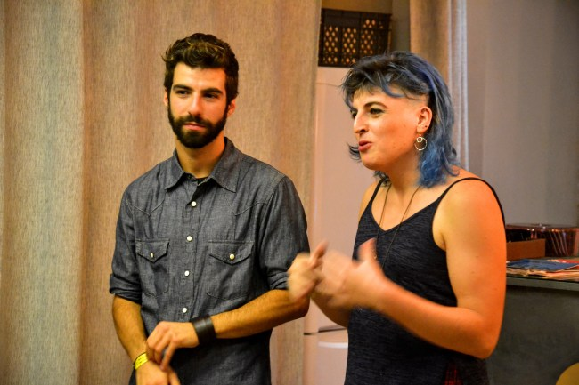 """Exposição Fotográfica """"antes de ser TRANS, é ser Pessoa"""": António e Dani"""
