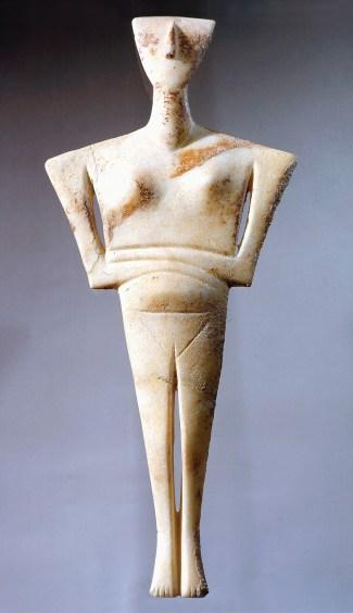 Escultura Cicládica