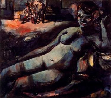 Rouault: Odalisque (1906)