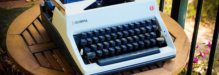 Mquinas de escribir antiguas las mejores marcas y modelos  Escribien