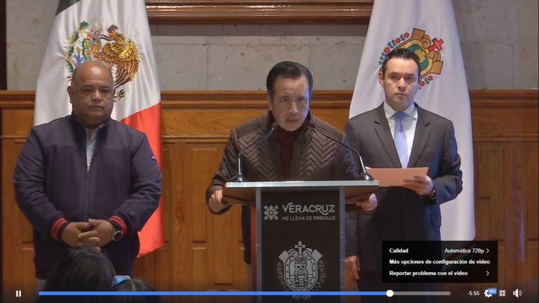 Veracruz cierra el año con baja en incidencia delictiva: Cuitláhuac García