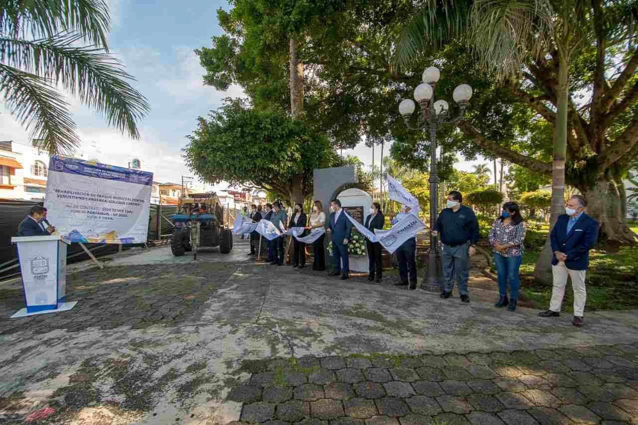 OBRA EN PARQUE DE FORTÍN COSTARÁ 4 MILLONES