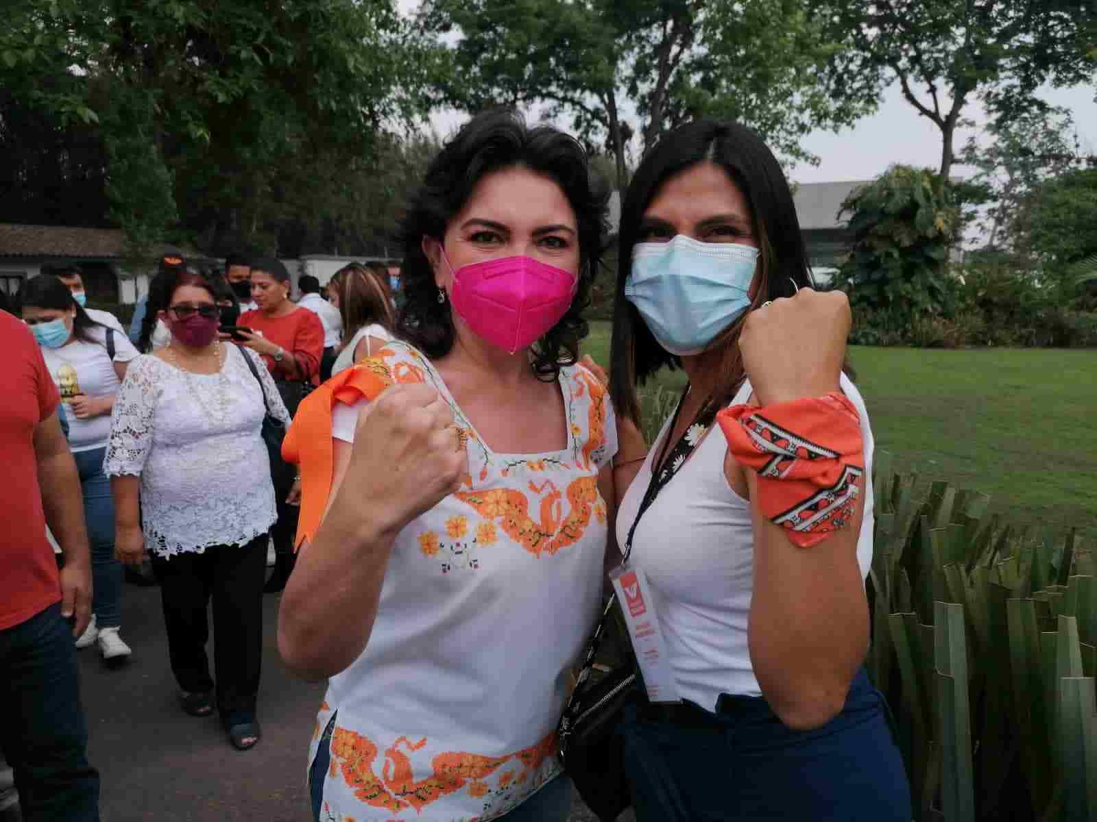LIDIA AGUIRRE RINDE PROTESTA COMO CANDIDATA DE MOVIMIENTO CIUDADANO