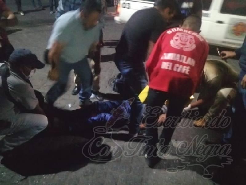 CHOCAN GOLF Y MOTO EN IXHUATLÁN