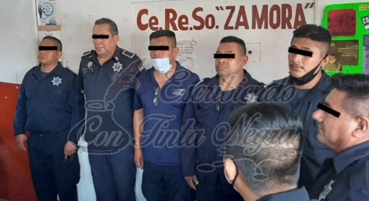 DETIENEN A 5 POLICÍAS DE LERDO DE TEJADA