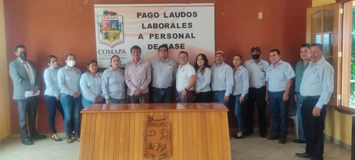 CUMPLE COMAPA CON PAGO DE LAUDO LABORAL