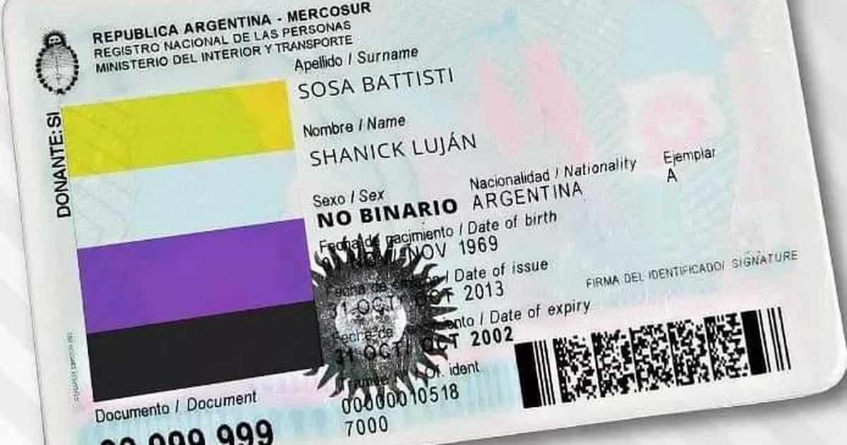 ARGENTINA, PRIMER PAÍS DE LATINOAMÉRICA EN RECONOCER A LAS PERSONAS NO BINARIAS