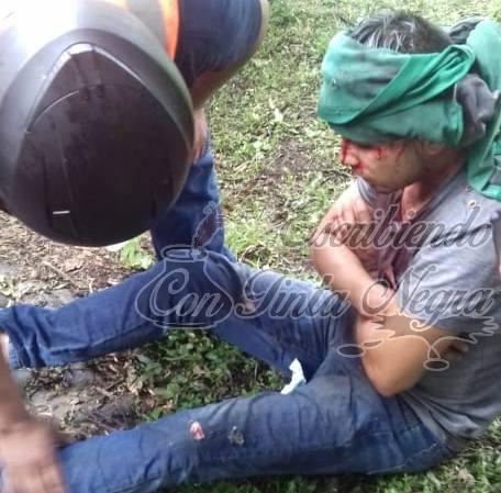 DERRAPAN MOTOCICLISTAS DE HUATUSCO EN EL JAMAPA