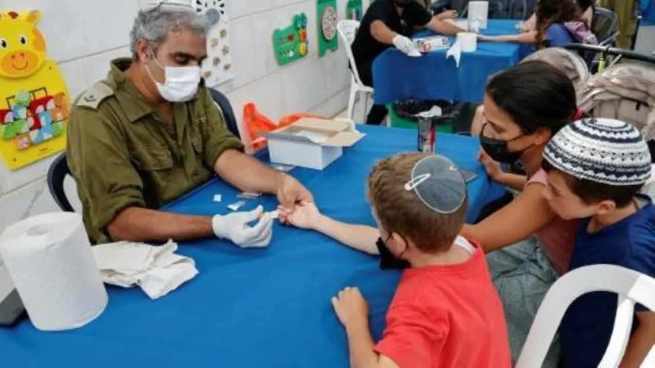 LANZA ISRAEL CAMPAÑA DE TEST COVID EN NIÑOS PARA ESTUDIAR ANTICUERPOS