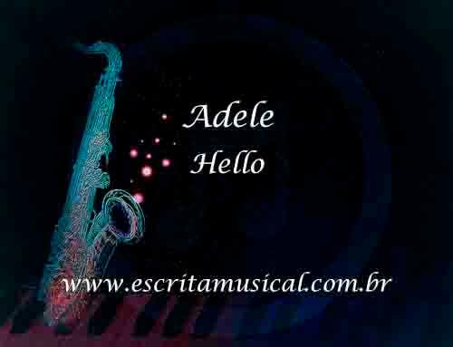 Adele-Hello-Partituras