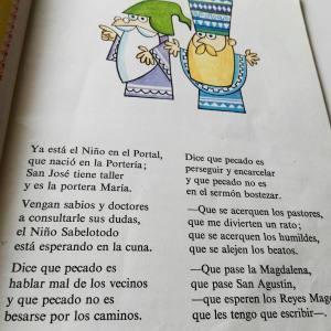Ya esta el Niño en el portal Gloria Fuertes el camello cojito Escritora de Fortuna