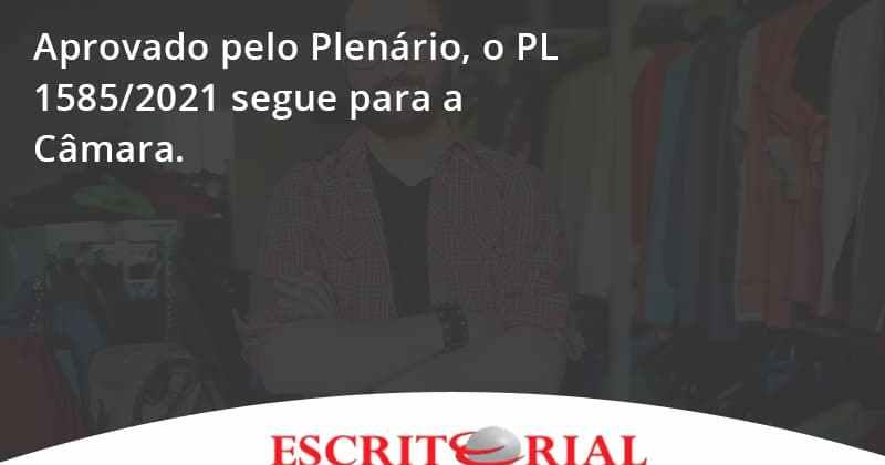 Aprovado Pleno Plenario O Pl 15852021 Segue Para A Camara Escritorial - Contabilidade em Uberlândia | Escritorial Contabilidade