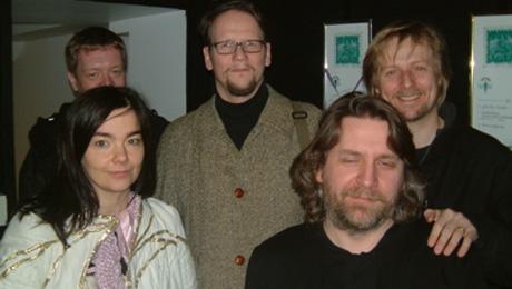 Sjón con Björk en Islandia