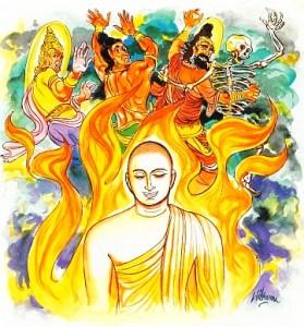 """Versión ilustrada del Dhammapada, """"Conquista sobre uno mismo"""", fin de las impurezas mentales"""