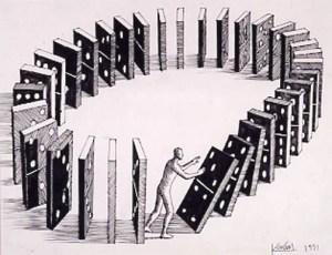 Ley del Karma - Domino Theory