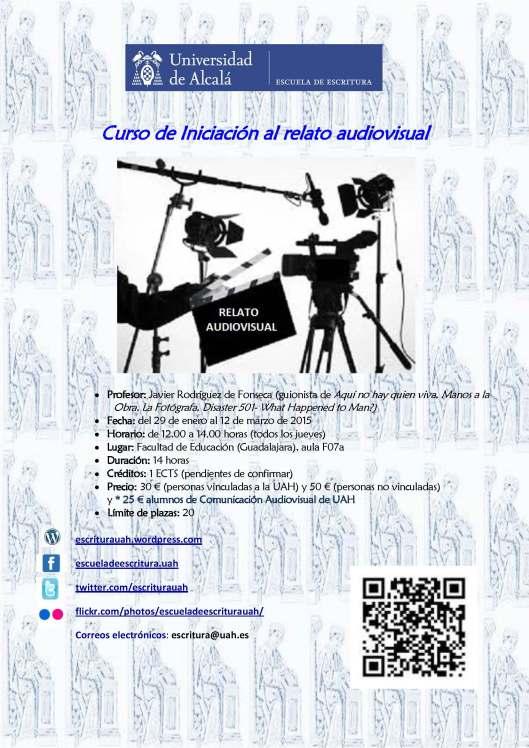 Curso de iniciación al relato audiovisual