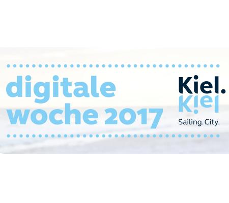 Daniela und Christoph veranstalten einen Podcasttag zur Digitalen Woche Kiel