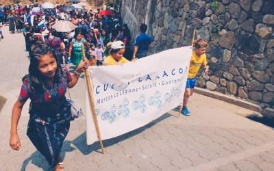 San Marcos la Laguna's town parade