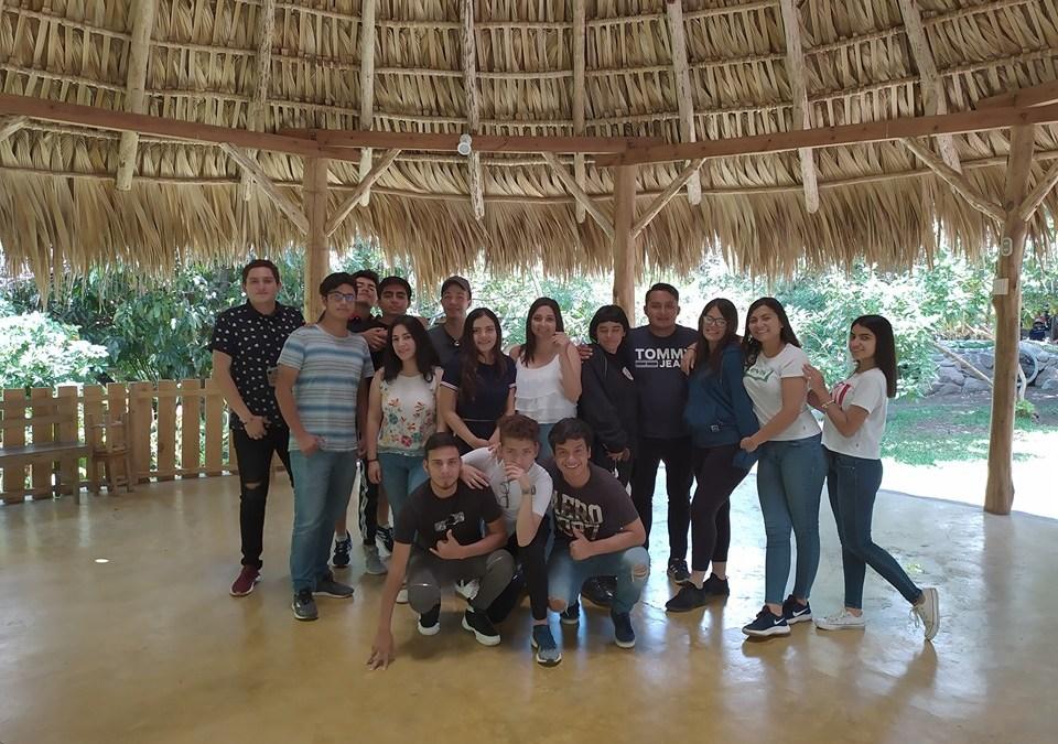 "Visit by the students of el ""El Pilar"""