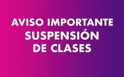 Suspensión de clases en Castilla-La Mancha