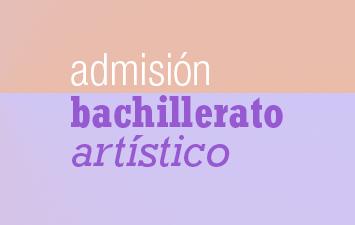 Información sobre la admisión de Bachillerato