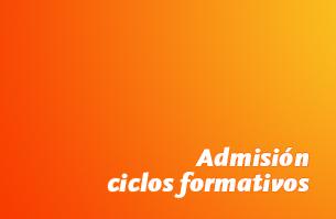 Admisión ciclos formativos curso 2021/22