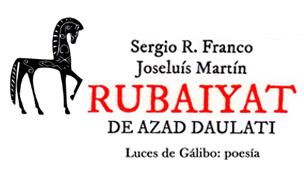 """Lectura poética del libro """"RUBAIYAT de Azad Daulati"""""""