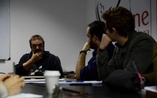 MAster de Produccion en la Escuela de Cine de Malaga con Gervasio Iglesias