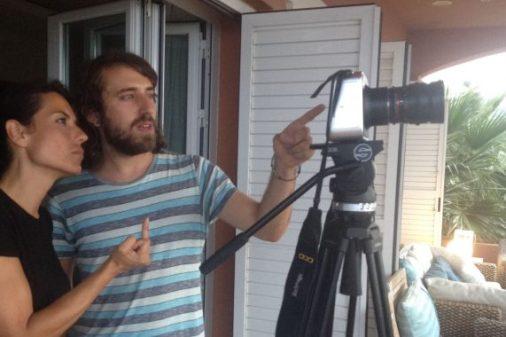 Rodaje STYX Maricielo pajares alumnos escuela cine malaga francis garcía daniel parra (5)