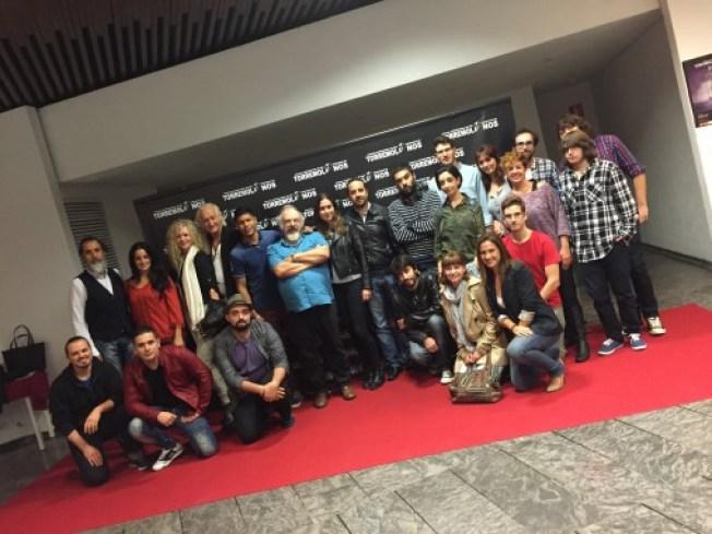 granit proyeccion festival cine torremolinos, alumnos escuela cine malaga