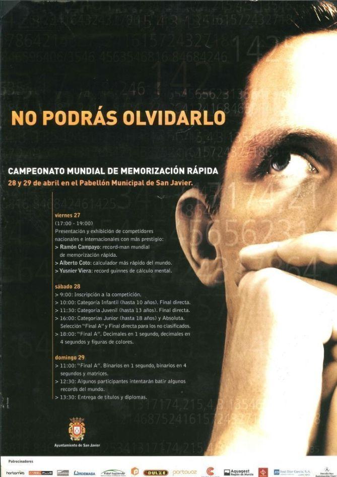 Speed-Memory San Javier cartel