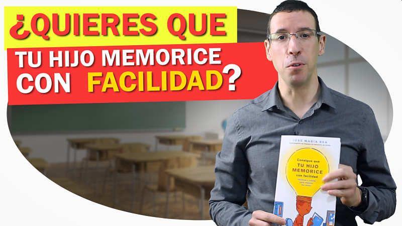 Consigue que tu hijo memorice con facilidad