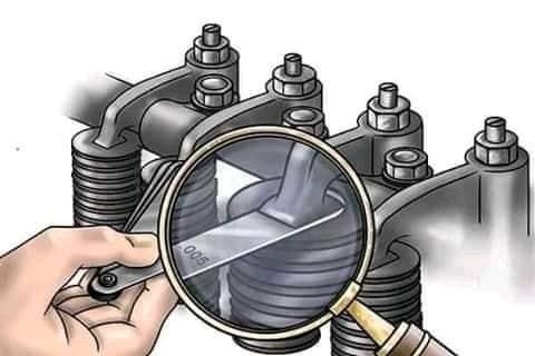 Como hay q calibrar un motor