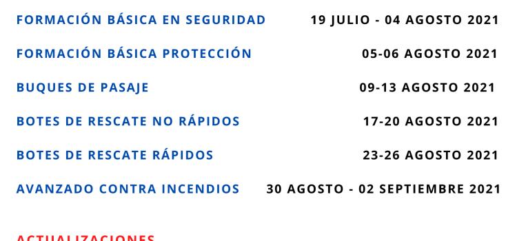 Nuevas fechas en Las Palmas de Gran Canaria