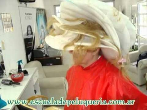 circulo del color cabello